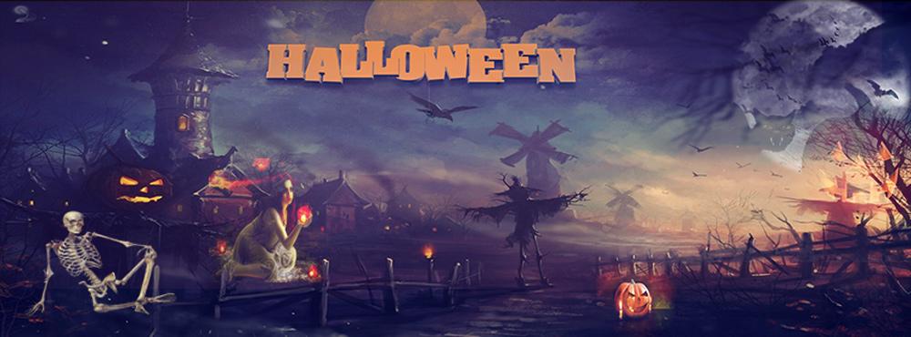 PSD anh bia Halloween 5