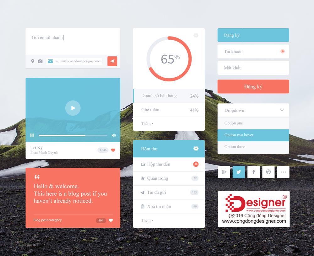 Tải mẫu Mobile App Templates PSD miễn phí để thiết kế giao diện ứng dụng di động