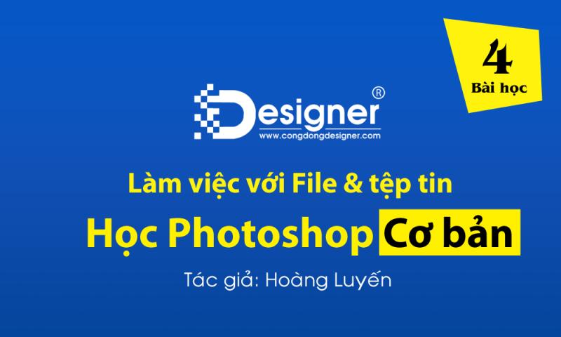 Cách làm việc với tệp tin trong Photoshop #4