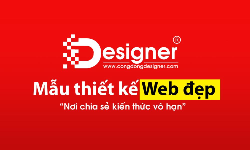 Mẫu website bán hàng đẹp, template website bán hàng đẹp