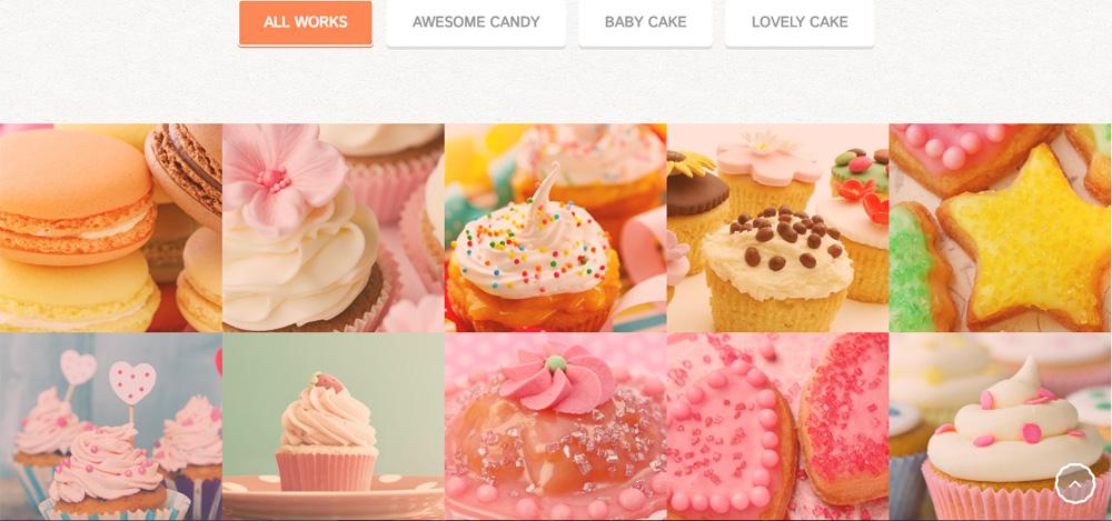mẫu website bán đồ ăn đẹp