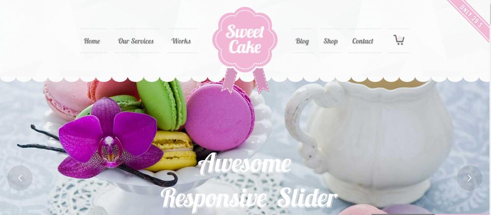 mẫu web bán đồ ăn nhanh