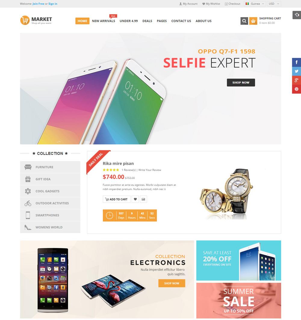 Mẫu web shop dien thoai di dong