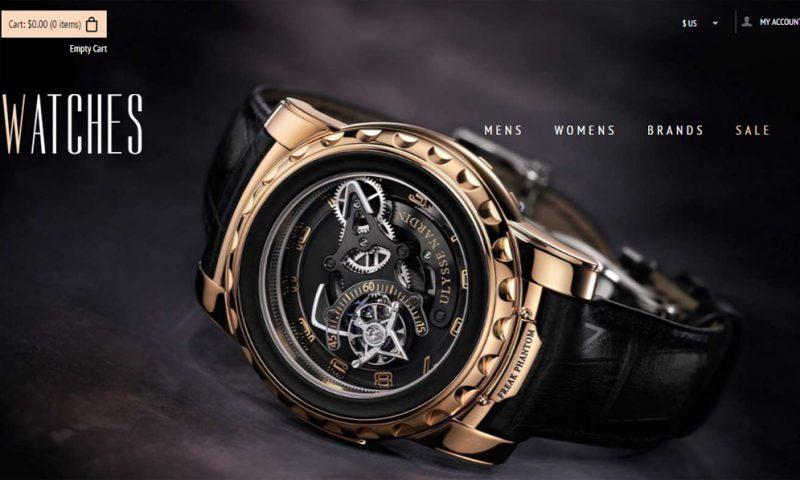 Download mẫu website bán đồng hồ đẹp