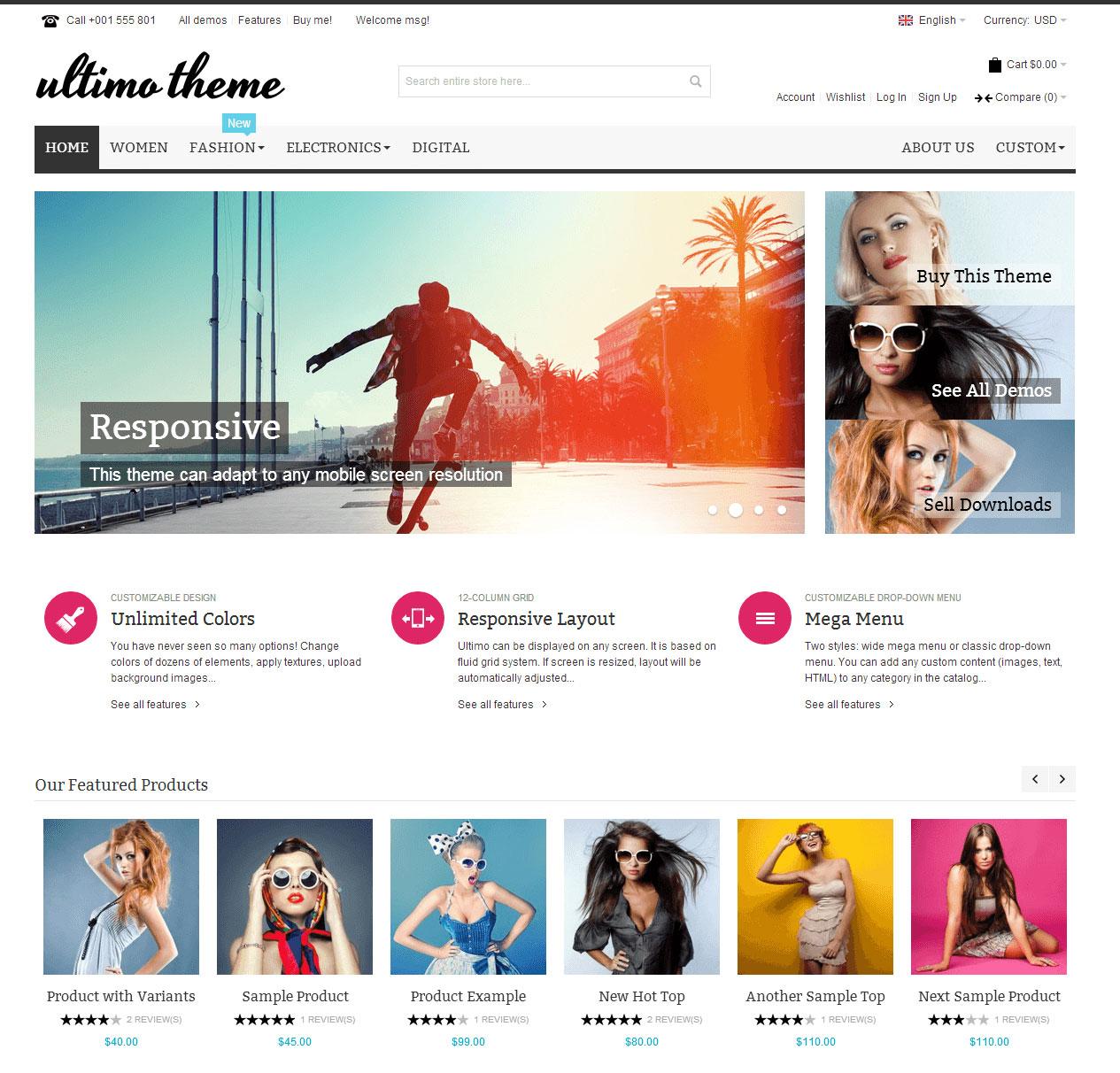 mẫu website bán hàng đẹp chuẩn seo