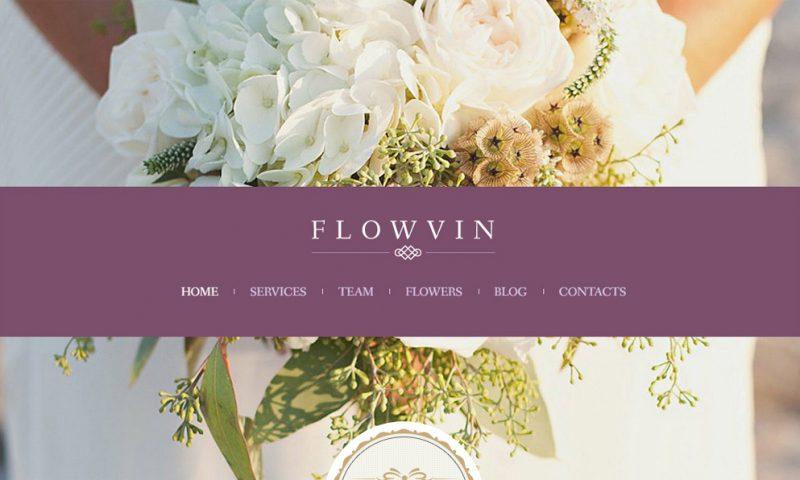 Mẫu thiết kế website bán hoa tươi đẹp