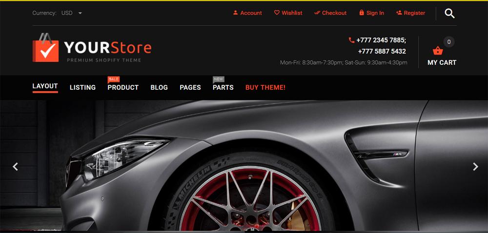 Website thương mại điện tử đẹp