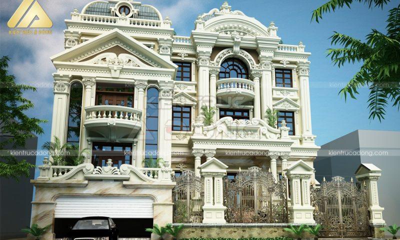 Tuyệt phẩm những mẫu kiến trúc biệt thự cổ điển