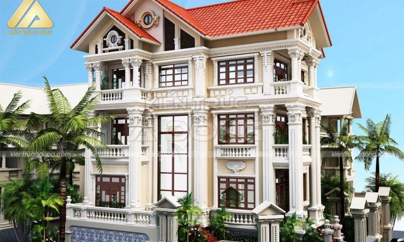 Lộ diện các mẫu biệt thự đẹp hút hồn tại Việt Nam