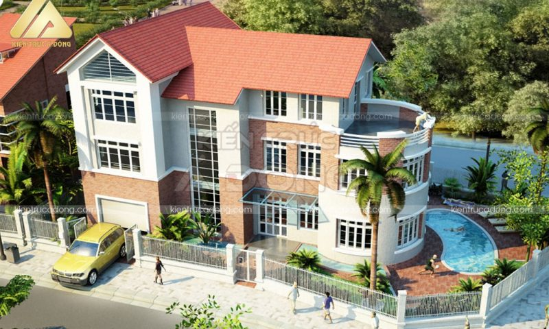 Choáng ngợp mẫu biệt thự đẹp nhất Việt Nam