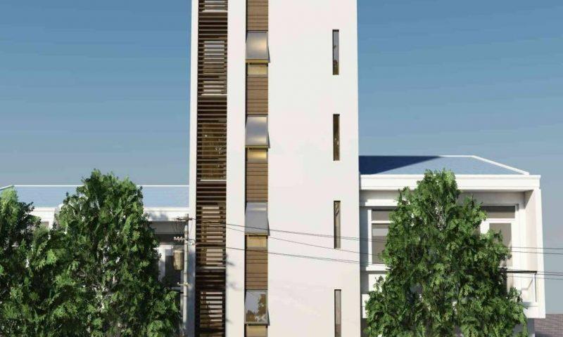 Cùng ngắm mẫu thiết kế nhà phố 5 tầng tuyệt đẹp