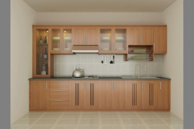 15 mẫu tủ bếp chữ I hiện đại (ảnh 1)