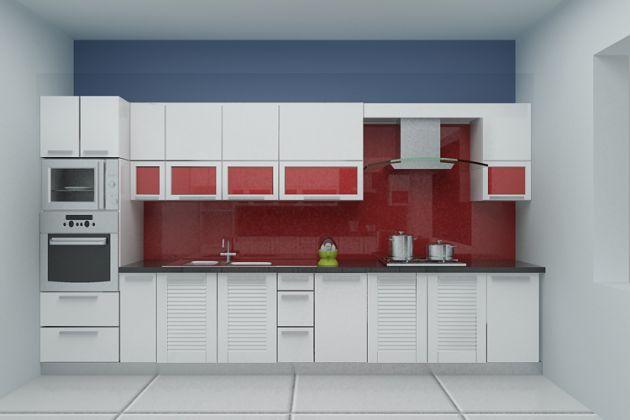15 mẫu tủ bếp chữ I hiện đại (ảnh 10)