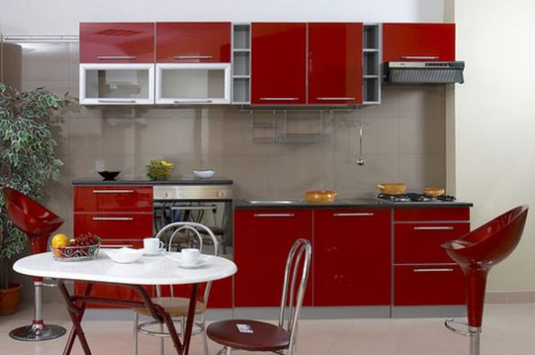 15 mẫu tủ bếp chữ I hiện đại (ảnh 14)