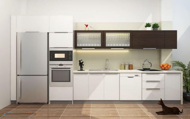 tủ bếp chữ I đẹp (ảnh 15)