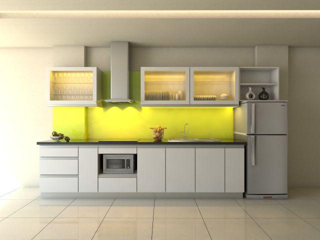 15 mẫu tủ bếp chữ I hiện đại (ảnh 8)