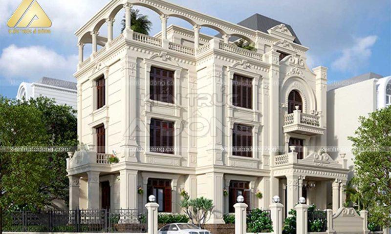 101 mẫu biệt thự cổ điển đẹp bậc nhất