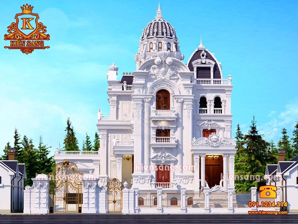 TOP 9. Mẫu bản vẽ thiết kế biệt thự cổ điển đẹp nhất tháng 11/2018